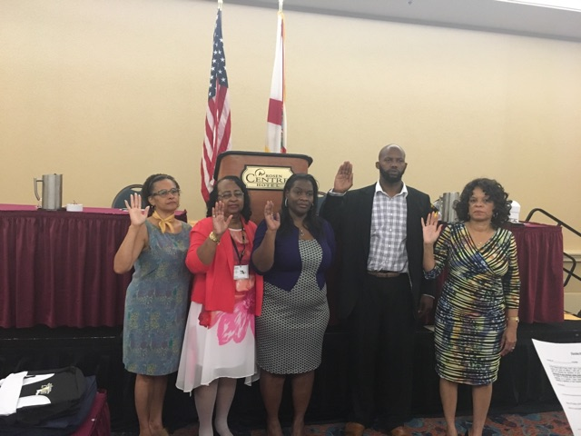 Lydia Hudson Elected President of Democratic Black Caucus By Louis C Ward