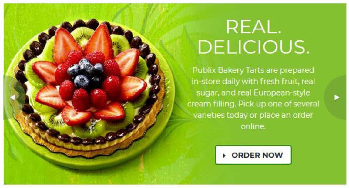 PUBLIX. Real. Delicious.