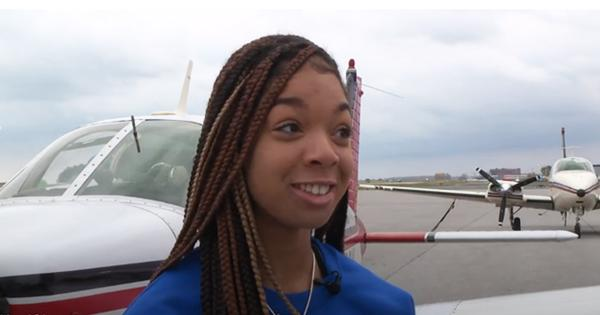 Meet the 16-Year Old Pilot Who Doesn't Even Have Her Driver's License Yet