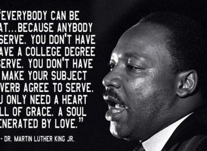Dr. Martin Luther King Jr. From a Positive Youth Perspective